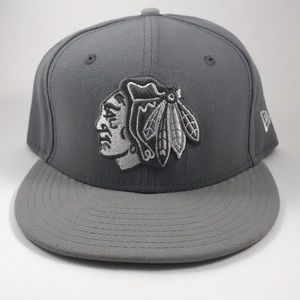 CHICAGO BLACKHAWKS New Era Fitted